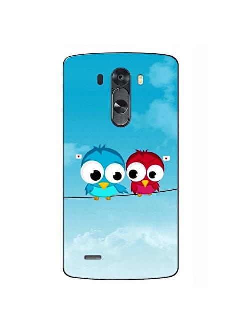People's Cover LG G4 Kabartmalı Telefon Kılıfı Renkli